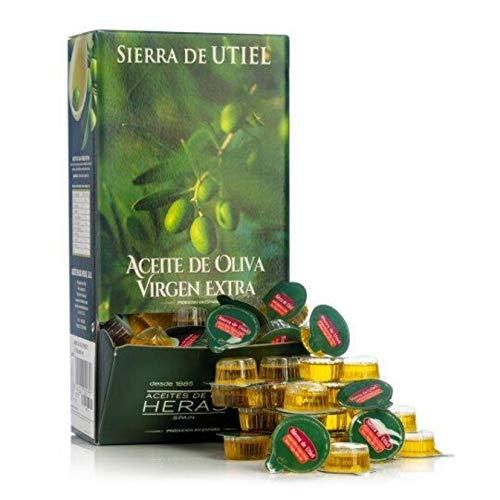 Sierra de Utiel - Aceite de Oliva Virgen Extra Premium - Pack Monodosis (168 Unidades) - Producto Natural Origen España