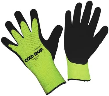 Brand new Cold Snap Premium 7-Gauge Green Jacksonville Mall Coated 3999- XL Gloves QTY 12