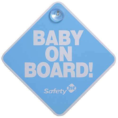 Safety 1st Baby On Board Sign, Blue by Dorel Juvenile Group (English Manual)