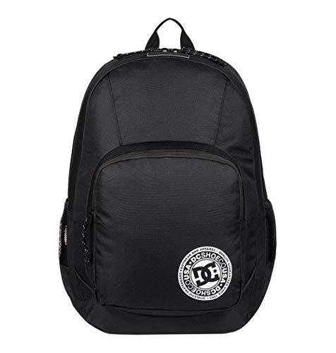 DC Apparel Herren Mittelgroßer Rucksack The Locker, black, One Size, EDYBP03176