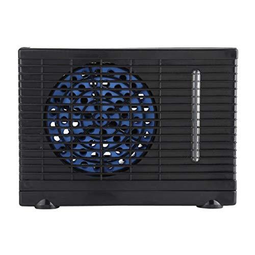 JCCOZ-URG 12V 35W 2 Velocidad Portátil Mini Home Home Car Refrigerador Agua Agua Evaporativa Aire Acondicionador de Aire para Carro de Coche Auto Fresco URG