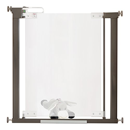 Fred Safety Pressure Fit Acrylic Clear-View Baby Safety Gate | Extendable...