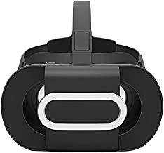 Ivishow VR Headset, Foldable Eye Protected HD Virtual Reality Glasses VR Box VR Goggles Compatible with iPhone Xs X 8 7 6 Plus Samsung S9 S8 S6 Edge Note 9 8 More 4.5-6 in Smartphone (Black)