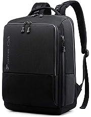 【Amazon限定ブランド】JIAPENGリュック バックパック 鞄 リュックサック 通勤 通学 旅行 ビジネス PC 大容量 防水 メンズ レディース 男女兼用 バッグ 9003