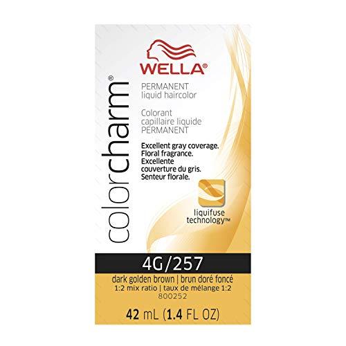 Wella Color Charm Permanent Liquid Hair Color 3NW Dark Nat Warm Brown