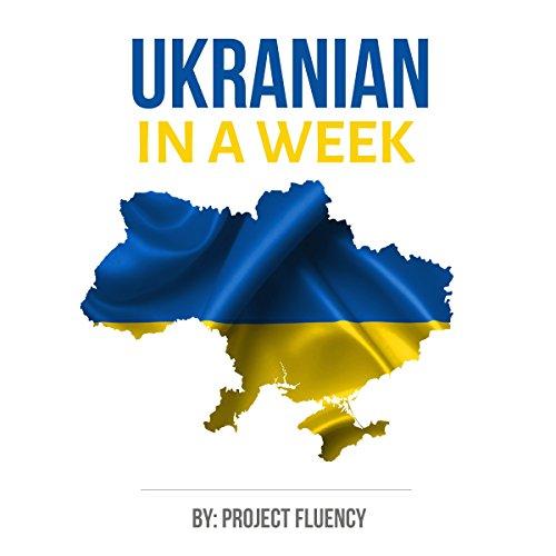 Ukrainian in a Week audiobook cover art