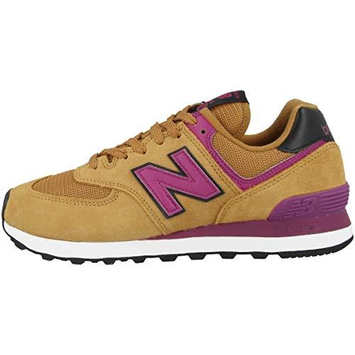New Balance WL574LBJ, Sneaker Mujer, Marrón, 38 EU