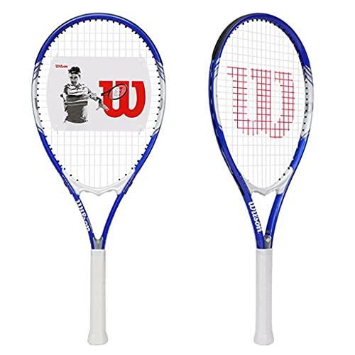 Raquetas de Tenis para Principiantes, Juego de Raquetas de Tenis, Raquetas Simples y Dobles, Tenis Gratis, Raqueta, Bolsa de Almacenamiento, Juego de práctica de Tenis Individual