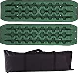 AEGIS light Tire Escaper Traction Mats,Recovery Boards Traction Tracks Mat,Emergency Lightweight Portable Vehicle Recovery Treads for Car, Truck, RV, ATV Roadside Assistance and Off-Road,Red