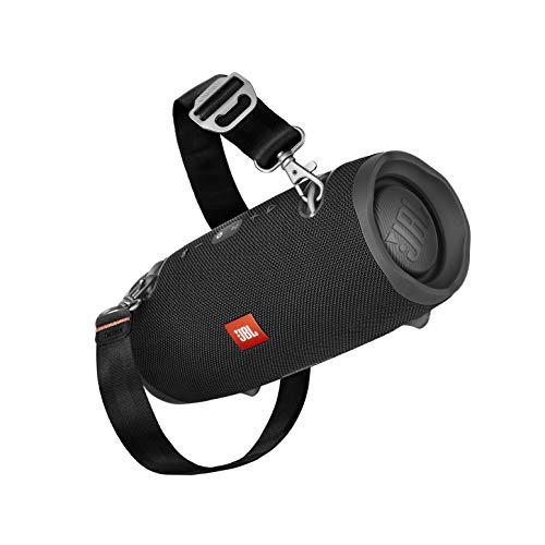 JBL Xtreme 2 Musikbox in Schwarz – Wasserdichter, portabler Stereo Bluetooth Speaker mit integrierter Powerbank – Mit nur einer Akku-Ladung bis zu 15 Stunden Musikgenuss