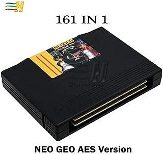 Cholyme LLC 1 Set 161 in 1 neo geo AES Multi Game Cartridge Jamma Motherboard neogeo AES 161 in 1 cart Mutli Games Cartridge Cassette 161 Games