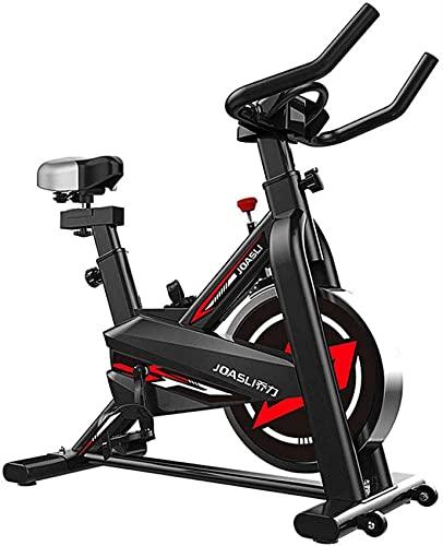 ZCYXQR Cyclette Verticale - Sedile con Manubrio Regolabile Cyclette Professionale (Sport Indoor)