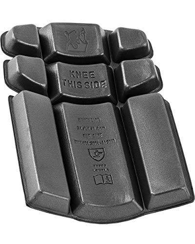 Grizzlyskin Workwear Kniepolster Iron Größe: 240 x 166 x 18mm, Knieschoner für Fliesenleger, Handwerker Schaumgummi Knieschutz, Heimwerker Knieschützer für Kniepolstertasche