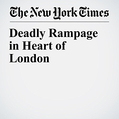 Deadly Rampage in Heart of London copertina