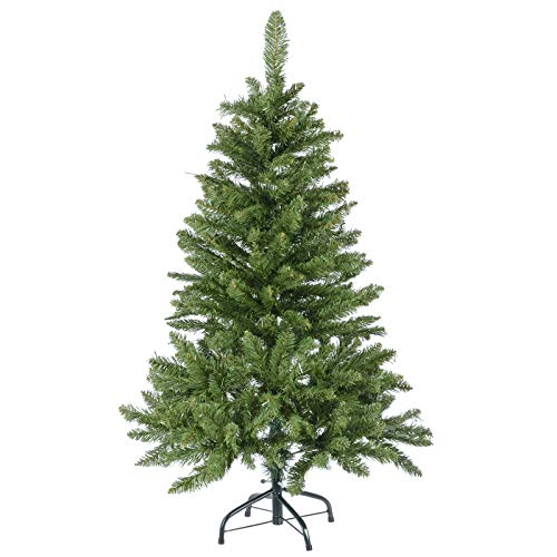 Mr-Crimbo-Standard-Pine-Christmas-Tree-Artificial-Indoor-Xmas-Decoration-4ft-5ft-6ft-7ft