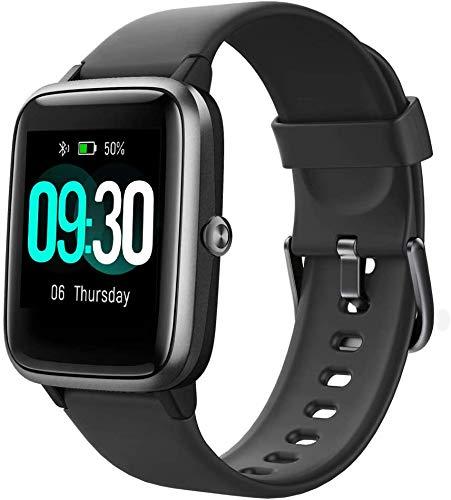smartwatch gear Smartwatch Orologio Fitness Tracker per Uomo Donna Bambini Cardiofrequenzimetro da Polso Contapassi Calorie Cronometro GPS Percorso IP68 Orologio Sportivo Activity Tracker per Android iOS
