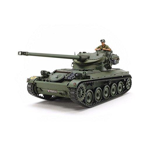 タミヤ 1/35 ミリタリーミニチュアシリーズ No.349 フランス陸軍 軽戦車 AMX-13 プラモデル 35349