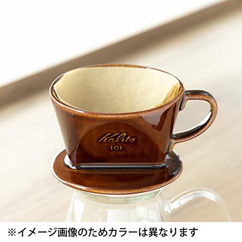 カリタ コーヒードリッパー 陶器製 1~2人用 ブラック 101-ロト #01005
