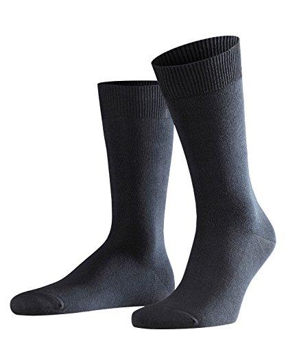 FALKE Herren Swing 2-Pack M SO Socken, Blickdicht, blau, 43-46 (2er Pack)