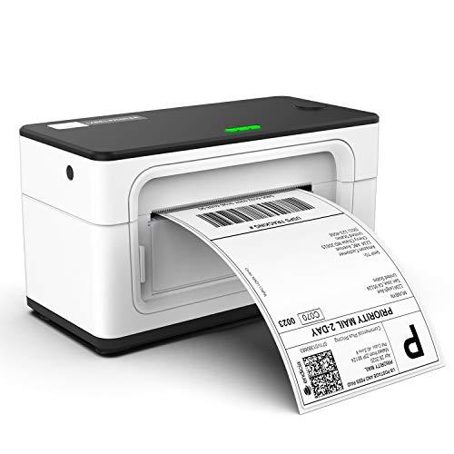 Etikettendrucker Etikettenmaschiene Direkter Thermischer Versandetikettendrucker für DHL UPS FedEx Amazon - 4XL Etikettendrucker - Thermischer drucker für PC/Mac
