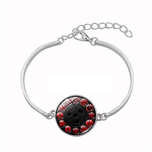 Bosi General Merchandise Naruto, schreibt runde Augen, Zeitedelsteine, Metallarmbänder, Armbandschmuck