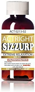 Actright (2oz) Yellow Relaxation Syrup