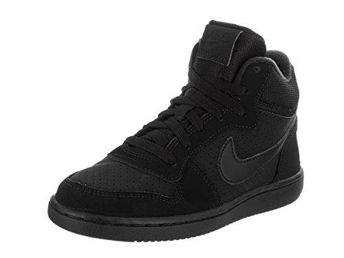 Nike Jungen Court Borough MID (PS) Basketballschuhe, Schwarz, 33 EU