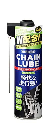 シュアラスター(Surluster) チェーンルブ セミドライ 潤滑性持続力に優れる 220ml S-146