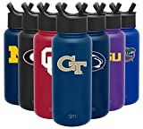 Simple Modern Georgia Tech 32oz Summit Water Bottle with Straw Lid - Mens Womens Gift University NCAA College Vacuum Insulated Stainless Steel Travel Flask insulated stainless steel water bottle Oct, 2020