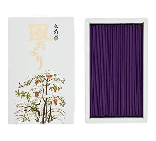 nippon kodo 278kazedayori Inverno incenso Bianco 16,5x 10x 4cm