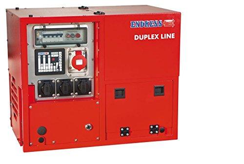 Diesel-Stromerzeuger ESE 608 DHG ES DI silent 6,0 / 6,6 kVA FI Schutzschalter & Notstromautomatik