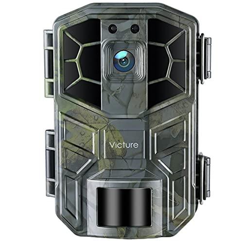 Victure WLAN Wildkamera 30MP 4K HD-Video Jagdkamera mit Bewegungsmelder Nachtsicht IP66 Wasserdicht Wildkamera zur Überwachung Sicherheit zu Hause und Beobachtung von Tieren und Pflanzen