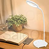 Wooum Rechargeable led Night lamp for Student Eye Protection Reading led Desk lamp Flexible Portable led Table lamp for Office