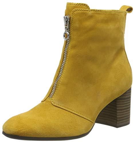Botines amarillo mostaza para mujer