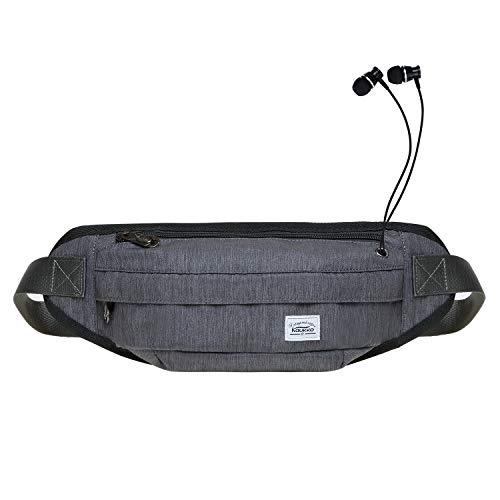 KAUKKO Doggy Gürteltasche Mode-Hüfttaschen Geldgürtel, 40 cm, 3L
