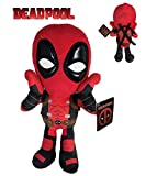 Marvel - Peluche Deadpool Postura Sorpresa 32cm Calidad Super Soft
