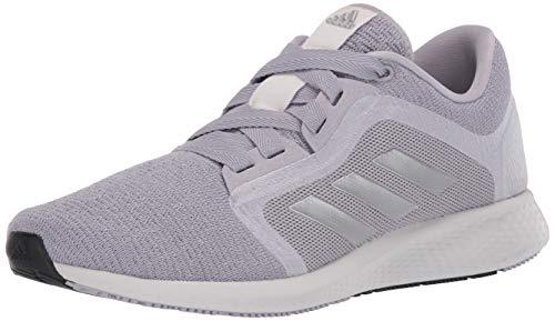 adidas womens Edge Lux 4 Running Shoe, Glory Grey/Silver/Grey, 5.5 US