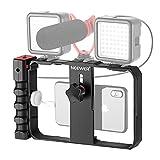 Neewer スマートフォンカメラスタビライザービデオリグ 映画制作ケース iPhoneなどに対応