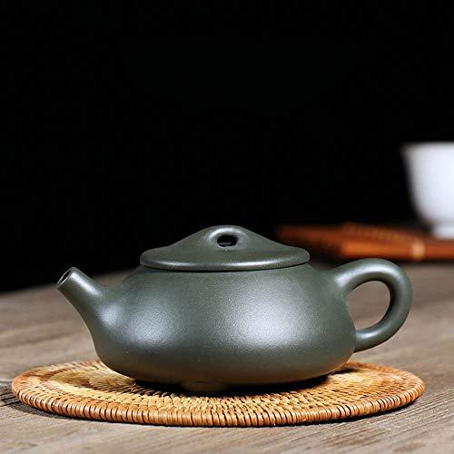 TOSISZ 220ml Authentieke Yixing theepot lila tinten Shi Piao pot handgemaakte Chinese kung Fu thee set theepot Zisha steen schepje pot groene modder