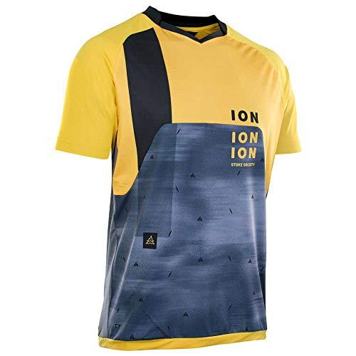 Ion Traze Vent Fahrrad Trikot kurz gelb/blau 2021: Größe: M (50)