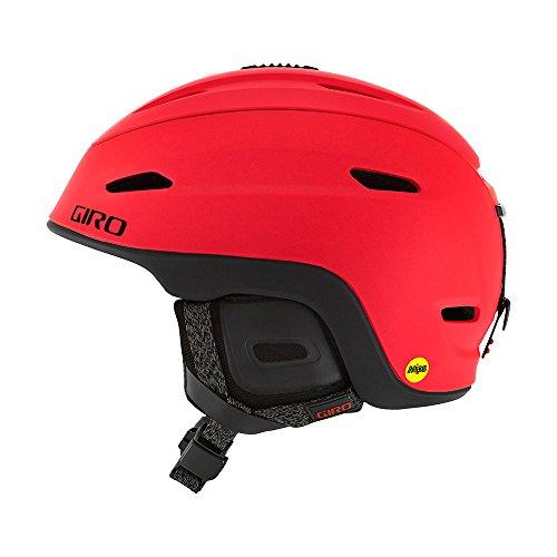 Giro Herren Zone MIPS Skihelm, mat Bright red, S