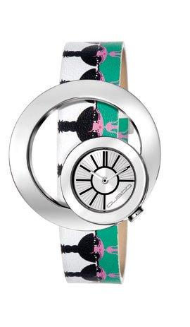 Custo Reloj analogico para Mujer de Cuarzo con Correa en Piel CU014601