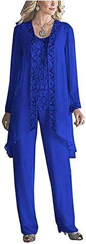 Royal blue suit for ladies _image3
