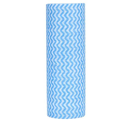 Pano, pano de prato O pré-punção é muito plano, use uma única vez, boa absorção de água, sem respingos de queda para gabinetes de exaustores(blue)