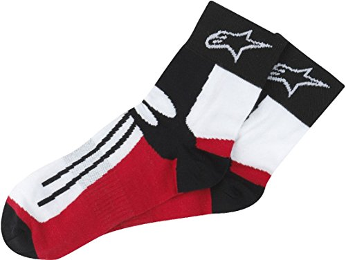 Chaussettes mixte moto Alpinestars Road Racing S/M Black Red