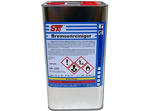 STC Bremsenreiniger 5 L Teile Reiniger Entfetter acetonfrei Teilereiniger