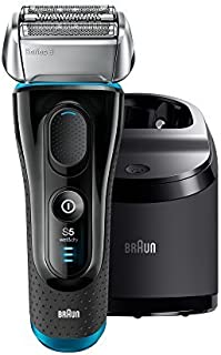 Braun Electric Razor for Men / Electric Shaver, Series 5 5190cc, Rechargeable with Clean & Charge...