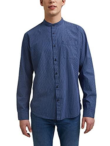 Esprit 021EE2F305 Camisa, 431/Blue 2, M para Hombre