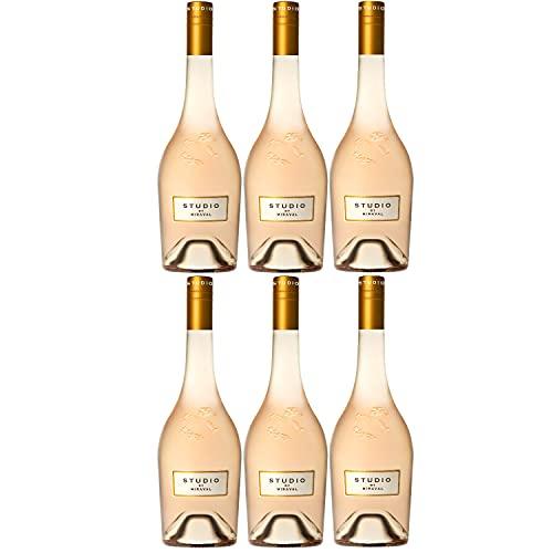 Chateau Miraval Jolie-Pitt & Perrin Rosé Méditerranée IGP Roséwein Wein trocken Frankreich (6 Flaschen)