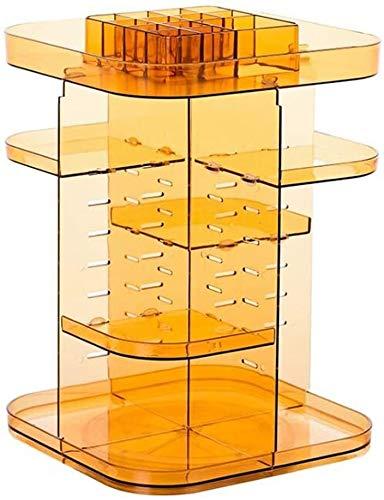 Lagerung Lagerung kosmetischer Speicher Kreative Hautpflege Lagerung Frisierkommode Lippenstift Aufbewahrungsbox Transparent Platz Cosmetic Box Multifunktionale Make-up-Speicherwerkzeug ( Size : 03 )